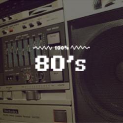 100% 80s - 100FM רדיוס