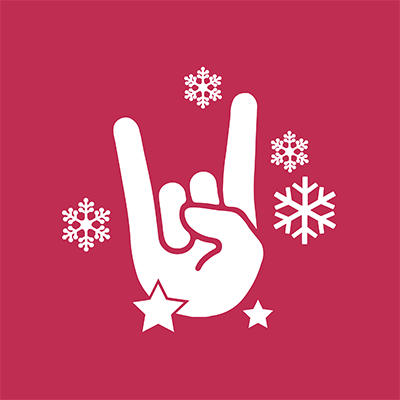 100% Rock Weihnachten